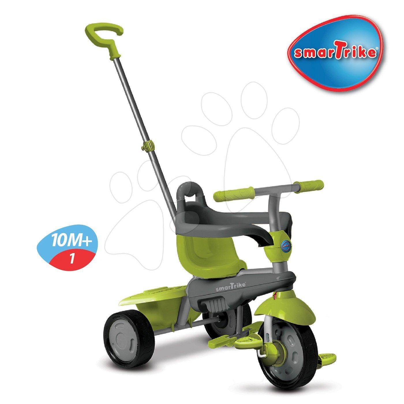 Trojkolky od 10 mesiacov - Trojkolka Breeze Touch Steering smarTrike zeleno-šedá od 10 mes