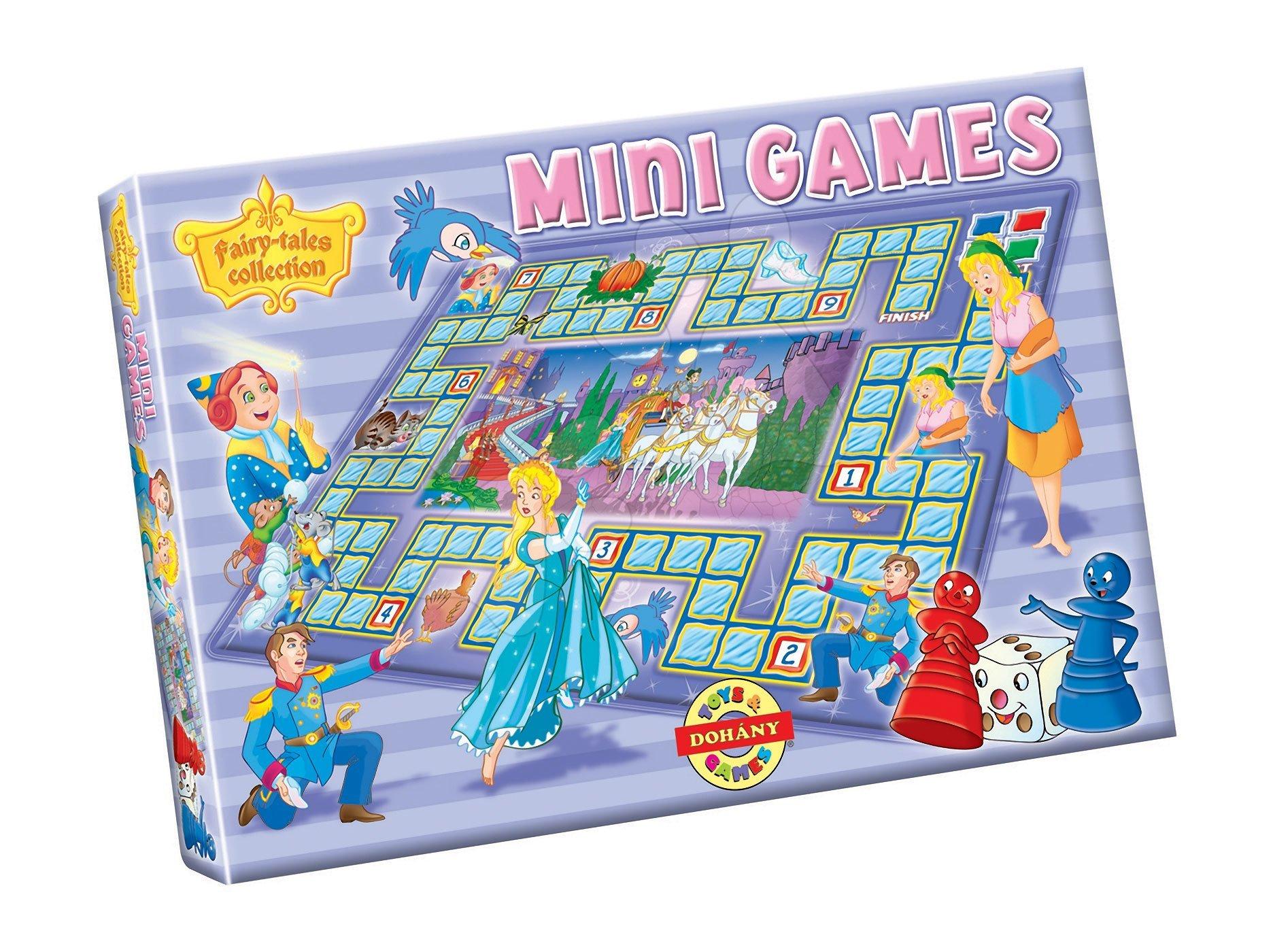Spoločenské hry pre deti - Spoločenská hra Popoluška Dohány