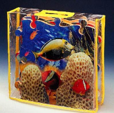 Pěnové puzzle - Pěnové puzzle Sea World Lee 54 dílů 60*90*1,2 cm od 0 měsíců