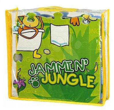 Pěnové puzzle - Pěnové puzzle Jungle Lee 54 dílů 60*90*1,2 cm