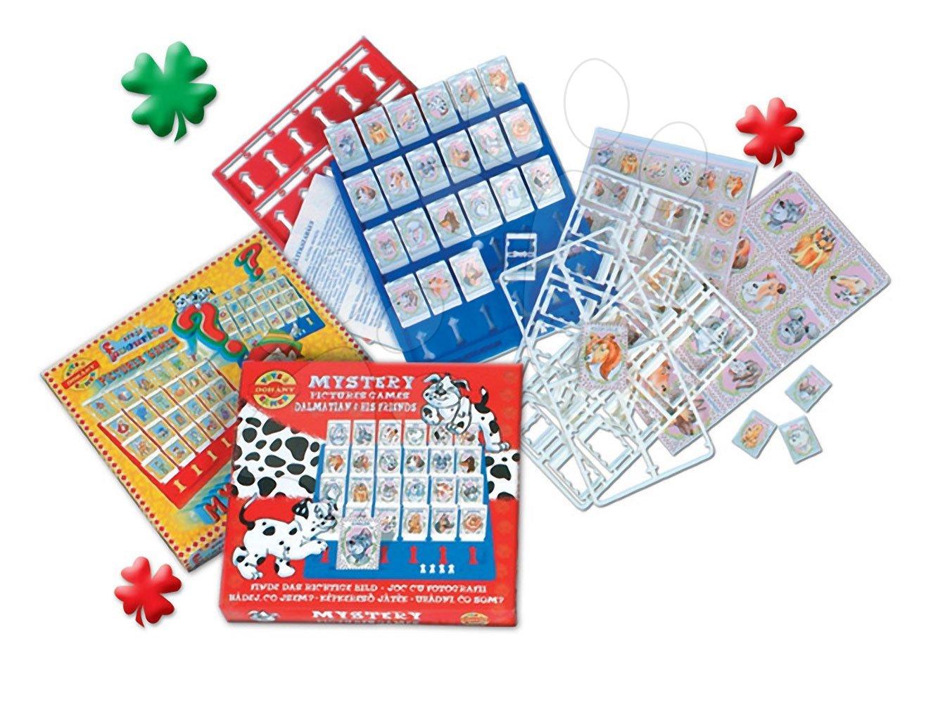 Společenské hry pro děti - Společenská hra Hádej kdo jsem? Dohány Dalmatini