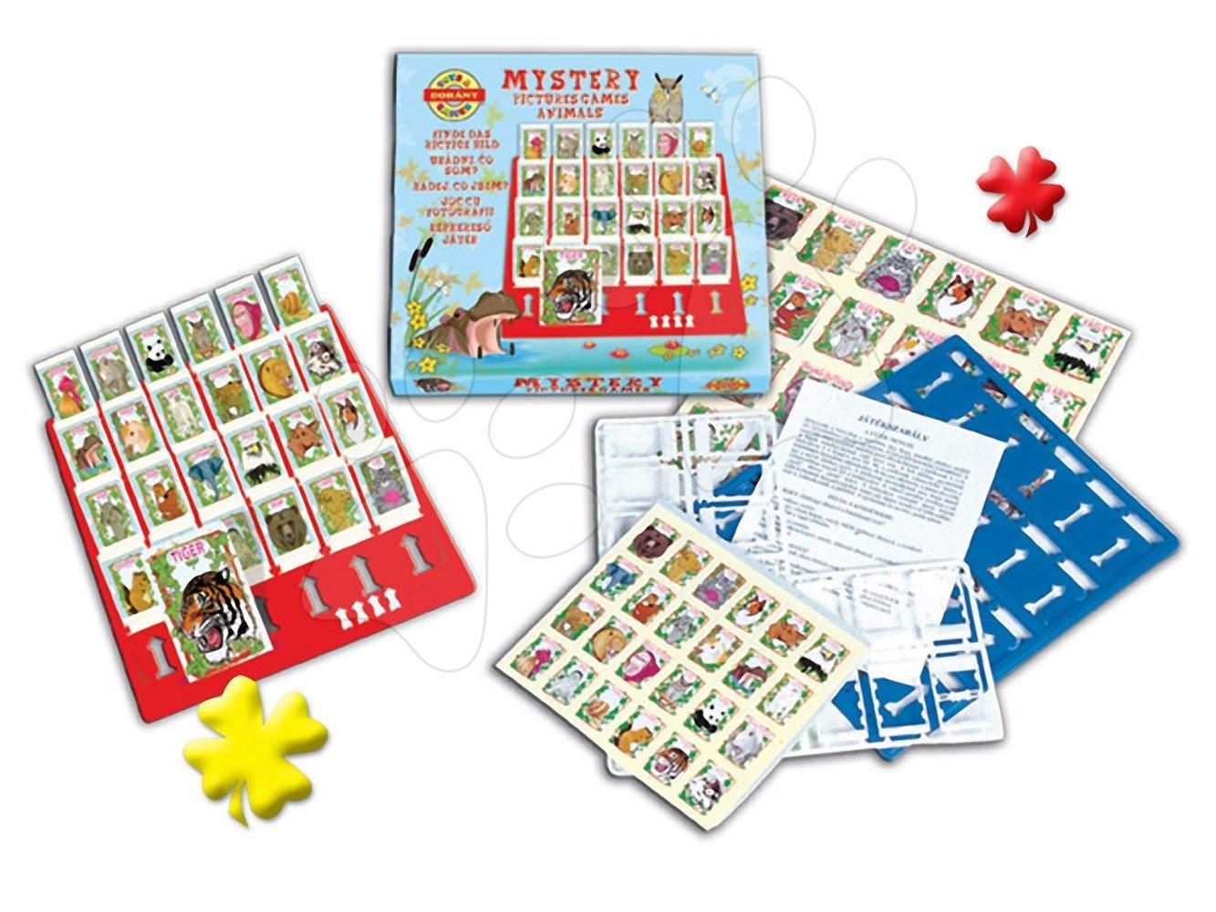 Společenské hry pro děti - Společenská hra Hádej kdo jsem? Dohány se safari zvířátky