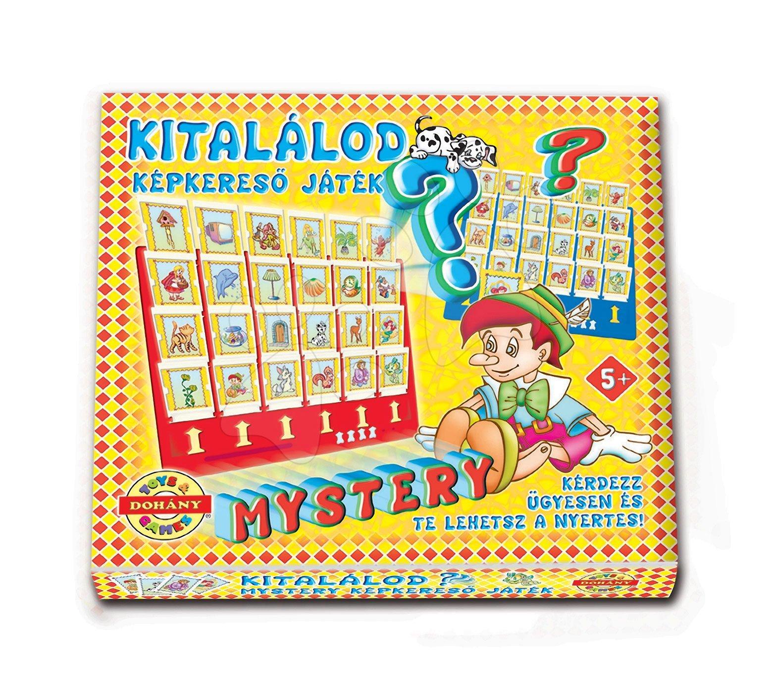 Spoločenské hry pre deti - Spoločenská hra s obrázkami Hádaj, čo som? Dohány od 5 rokov