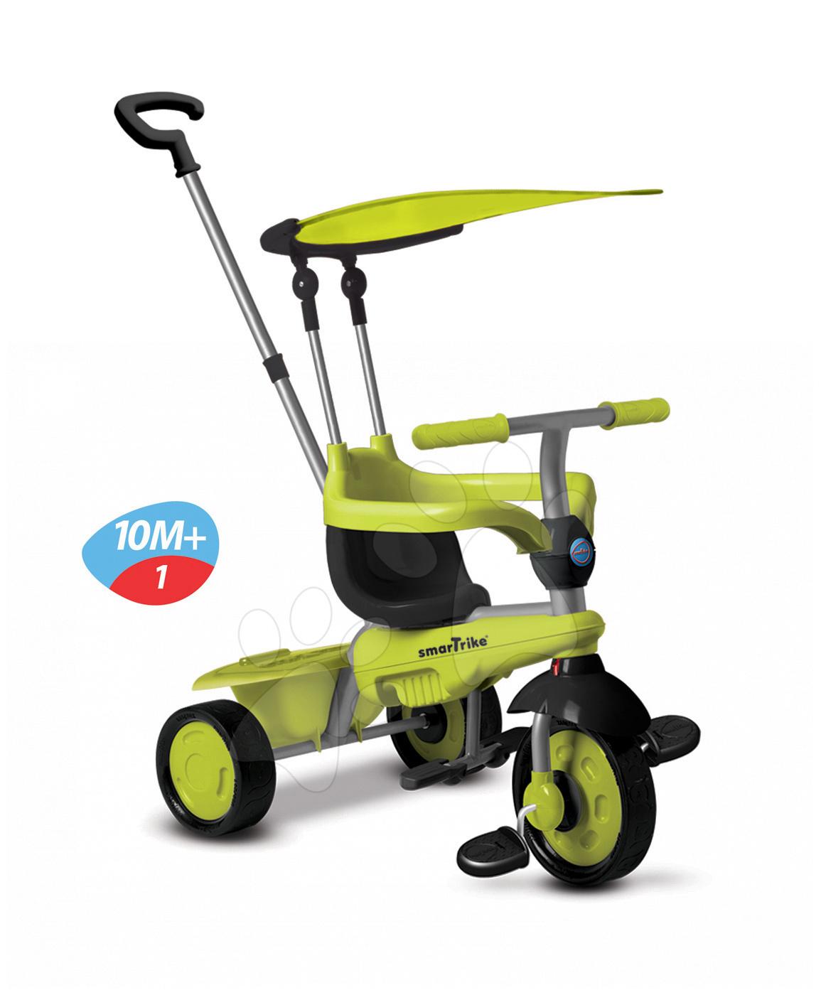 Tříkolka Carnival Green Touch Steering 3v1 smarTrike zeleno-šedá od 10 měsíců