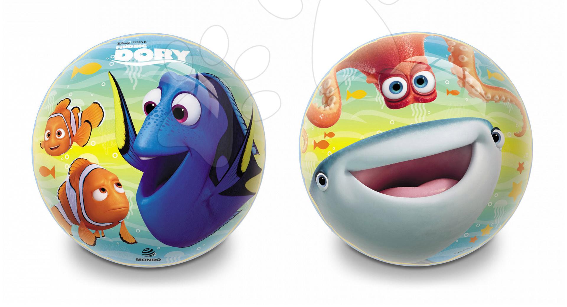 Pohádkový míč Hledá se Dory Mondo gumový 23 cm