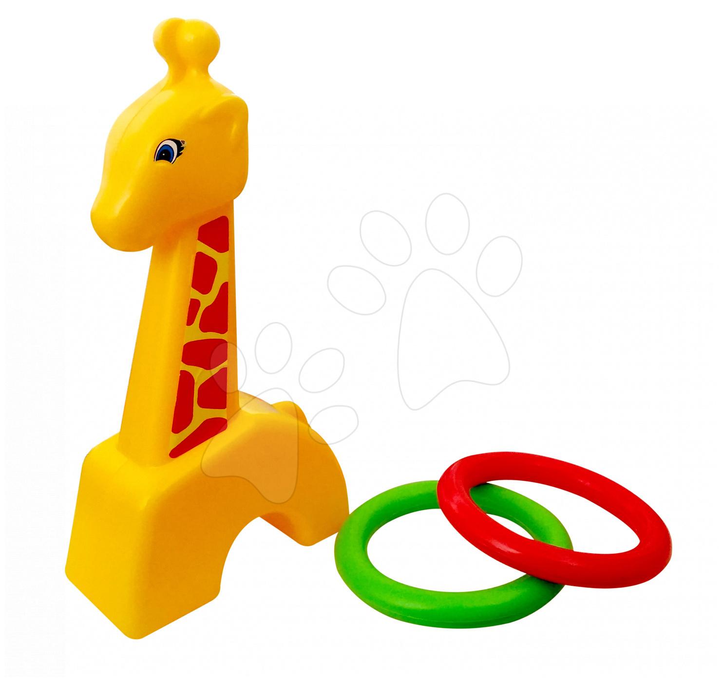 Joc de aruncat cercuri Girafă Écoiffier
