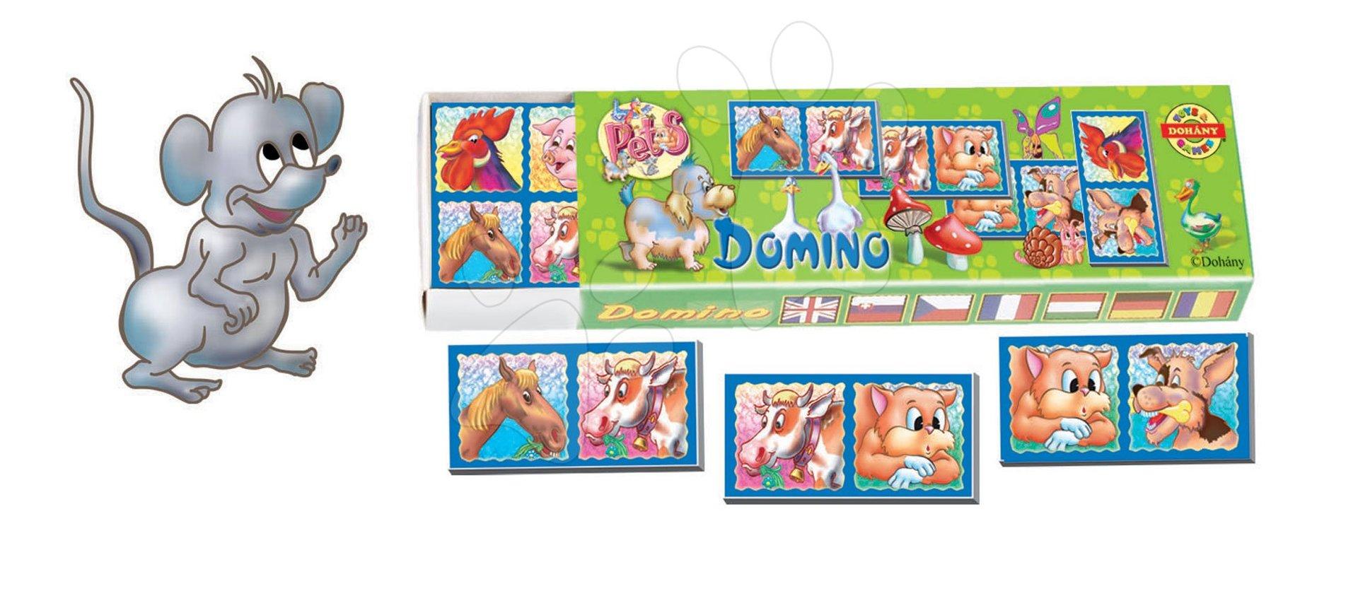 Domino a Lotto - Domino pro nejmenší Dohány různé druhy