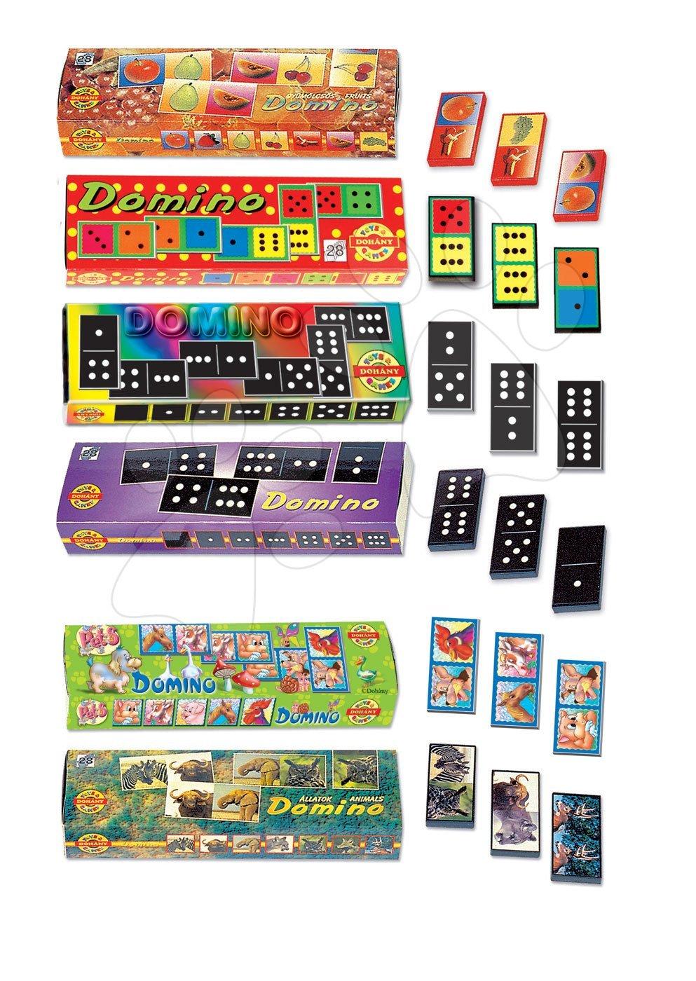 Domino Dohány různé druhy