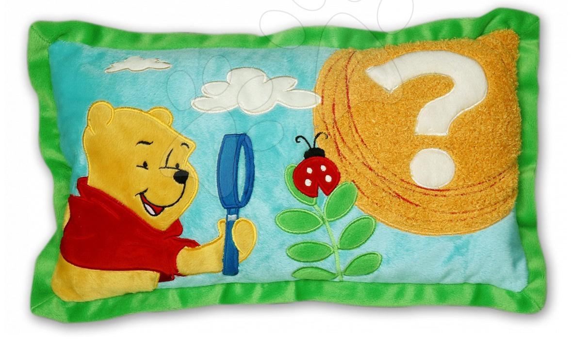 Dětský polštář WD Medvídek Pú Ilanit 28*42 cm modrý