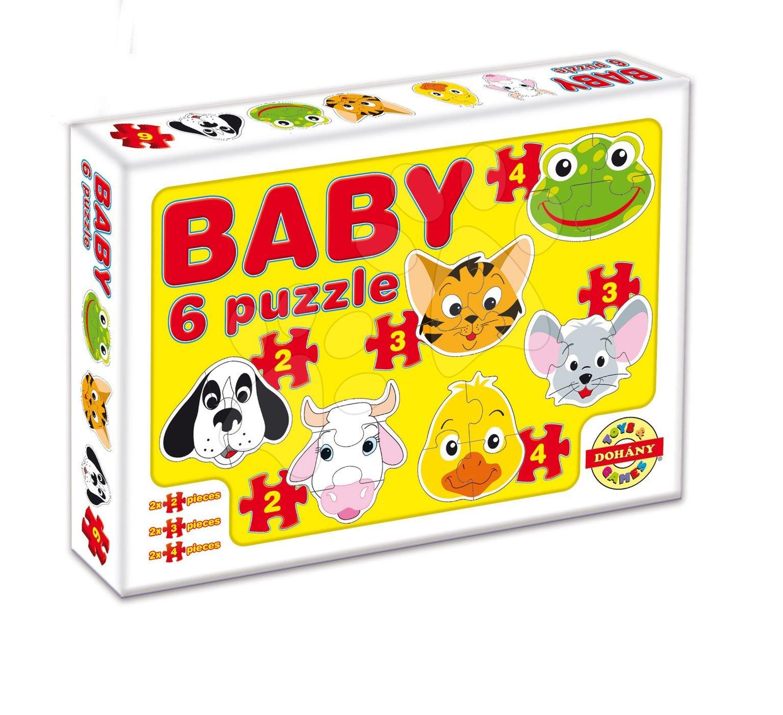 Dohány Baby puzzle domáce zvieratká 635-5
