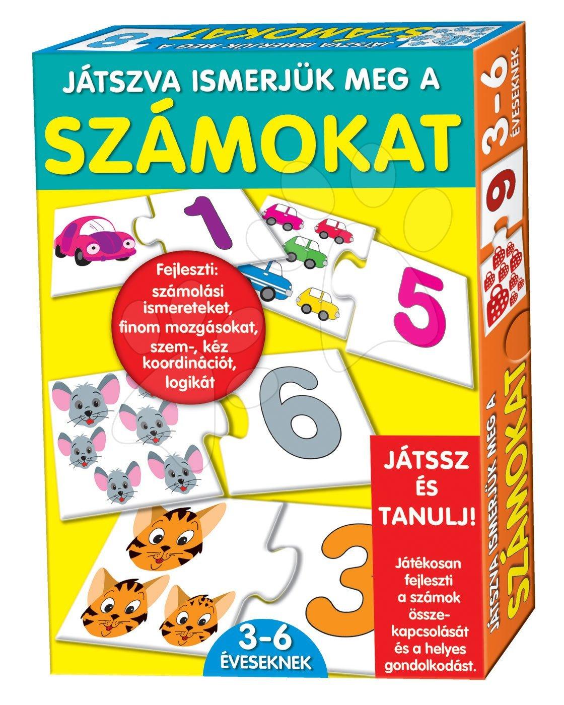 Spoločenské hry pre deti - Náučná hra Čísla Dohány 32 ks od 3 rokov