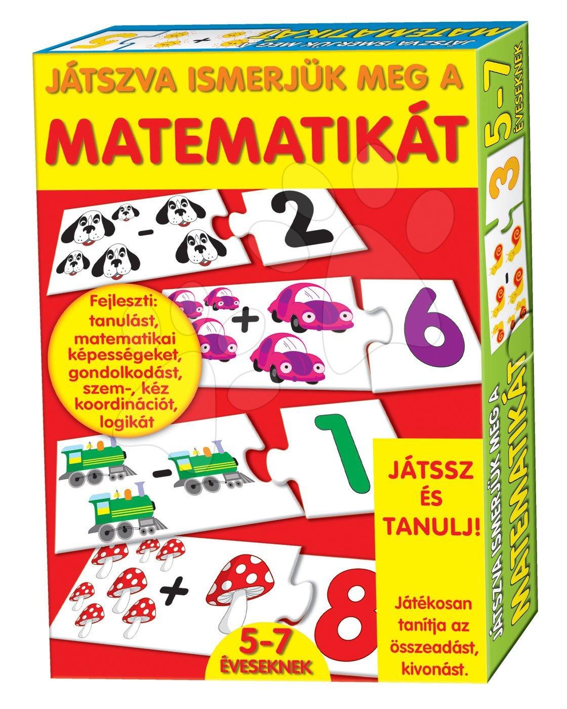 Poučna igra Matematika Dohány 32 kom od od 5 leta