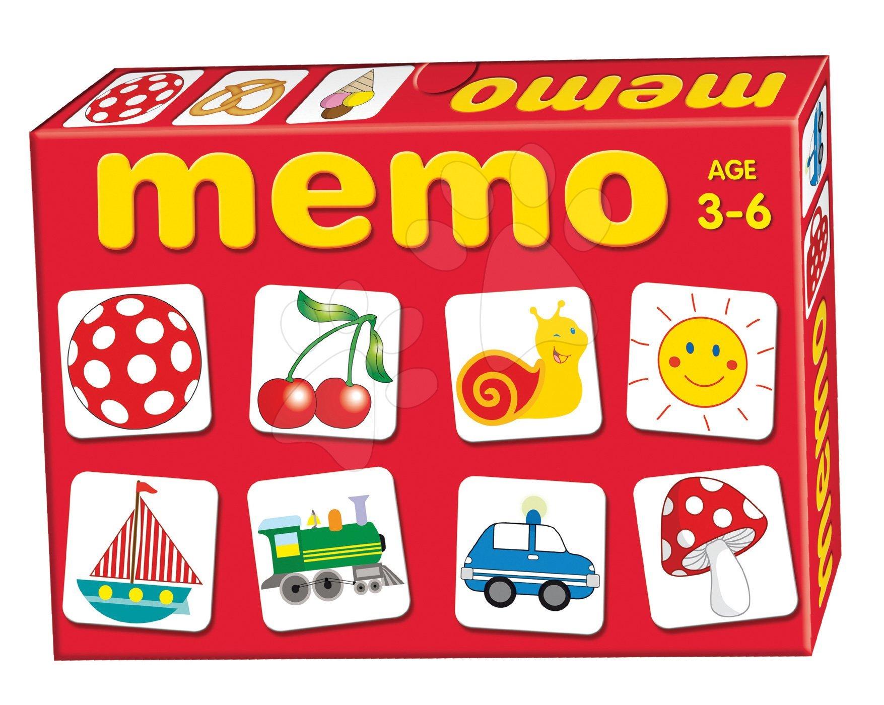 Pexeso - Pexeso Predmety Memo hra Dohány 32 ks od 3 rokov