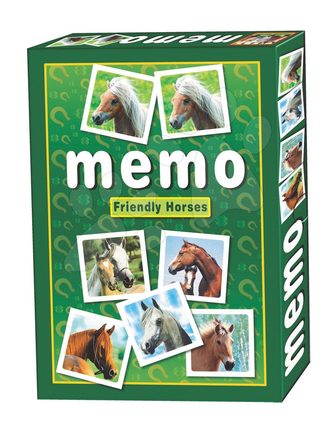 Dohány pexeso pre deti s koňmi 637-5