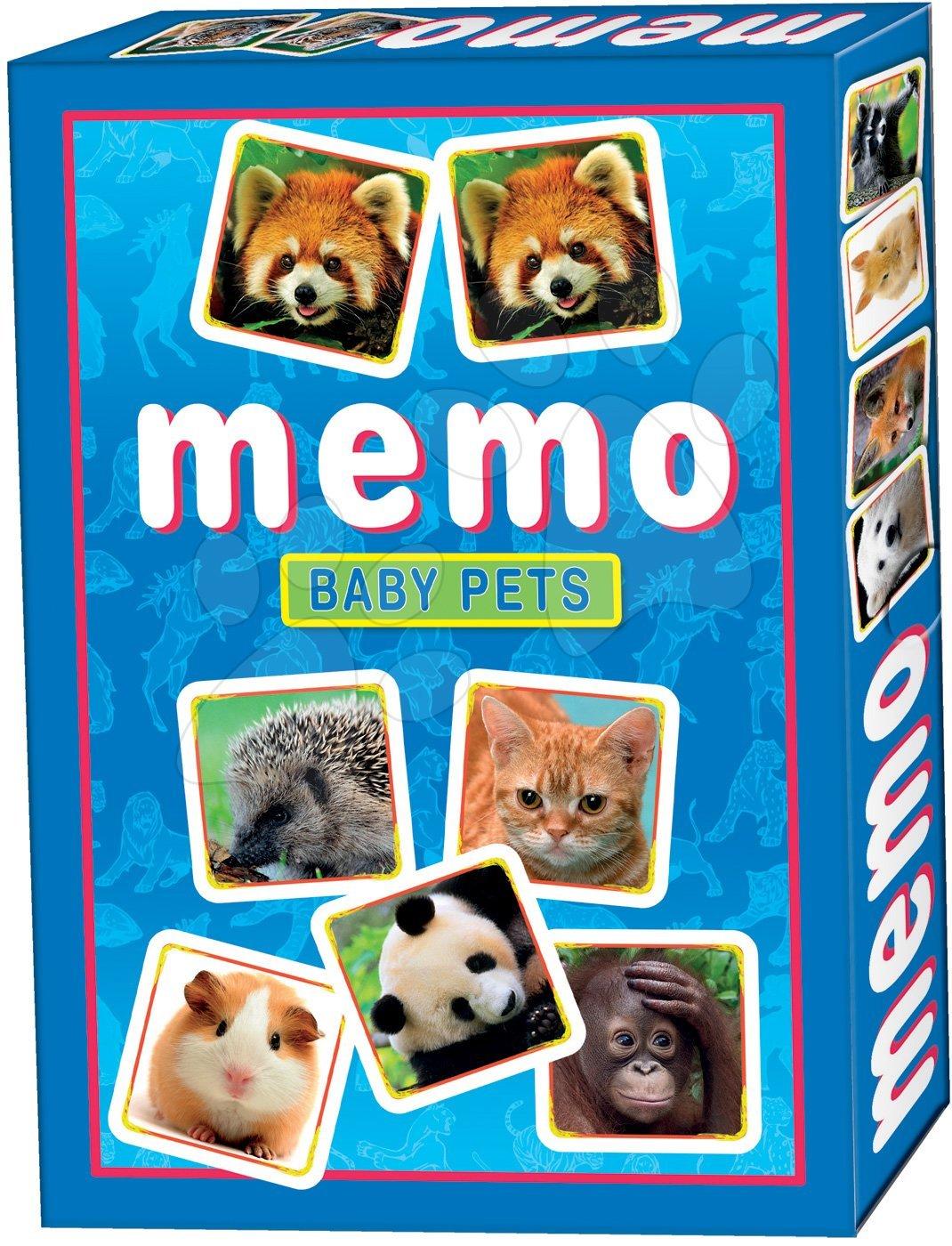 Pexeso - Pexeso s mláďatkami Memo hra Dohány 32 ks
