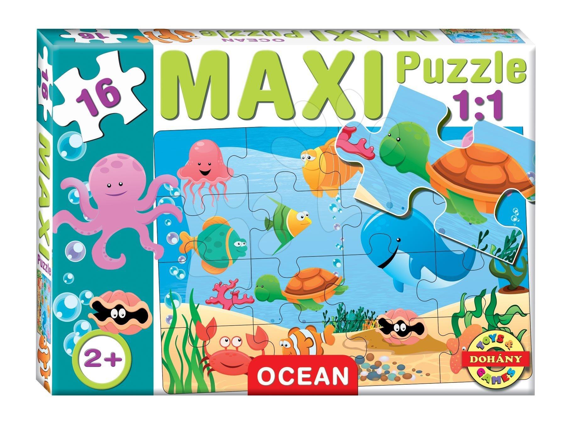 Baby puzzle Maxi Oceán Dohány 16 dílů od 24 měsíců