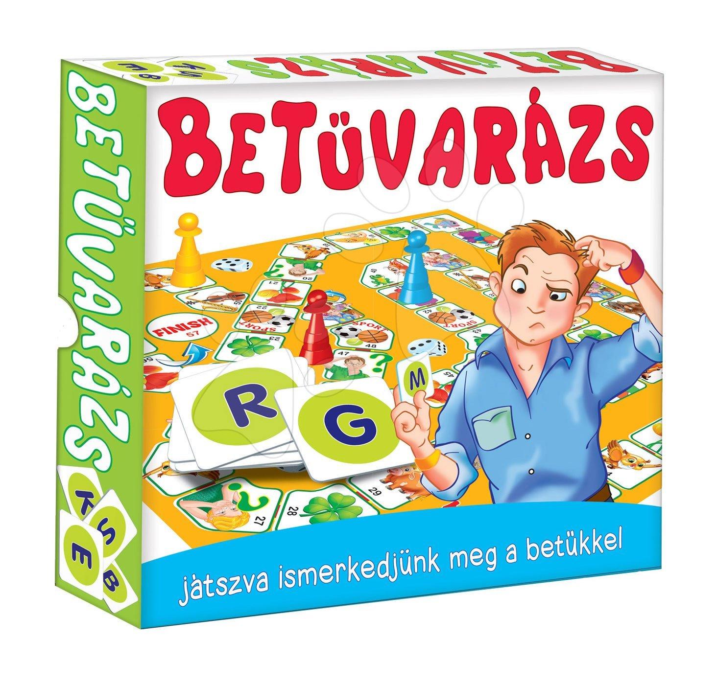 Spoločenské hry pre deti - Spoločenská hra ABC - spoznávanie abecedy Dohány od 6 rokov