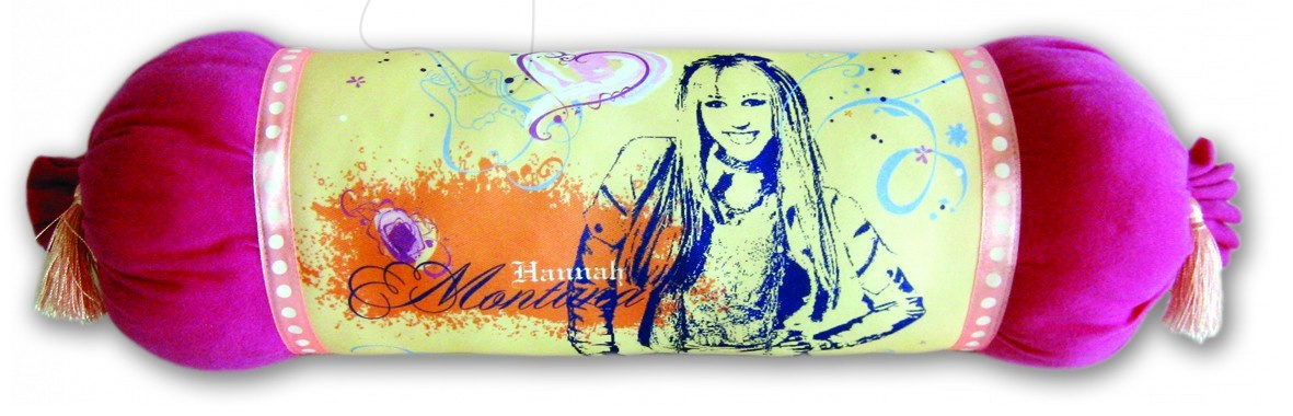 Polštář WD Hanna Montana Ilanit 46 cm broskvový