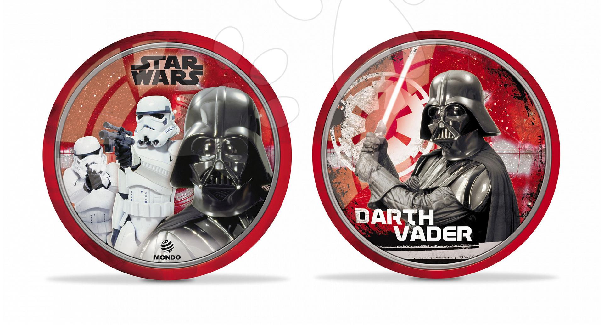 Rozprávková lopta Star Wars Mondo gumená 23 cm