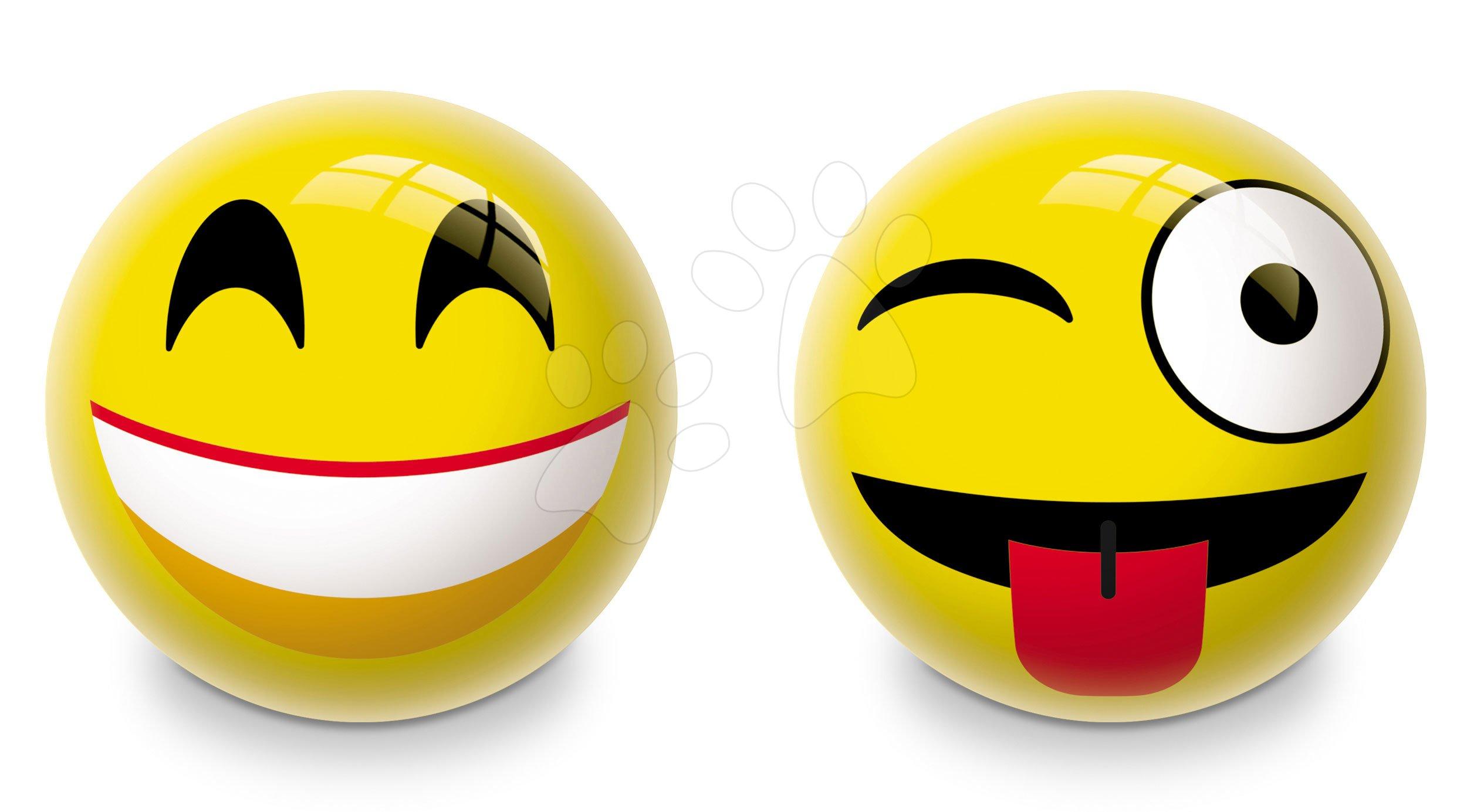 Obrázkový míč Emotic Mondo gumový 23 cm