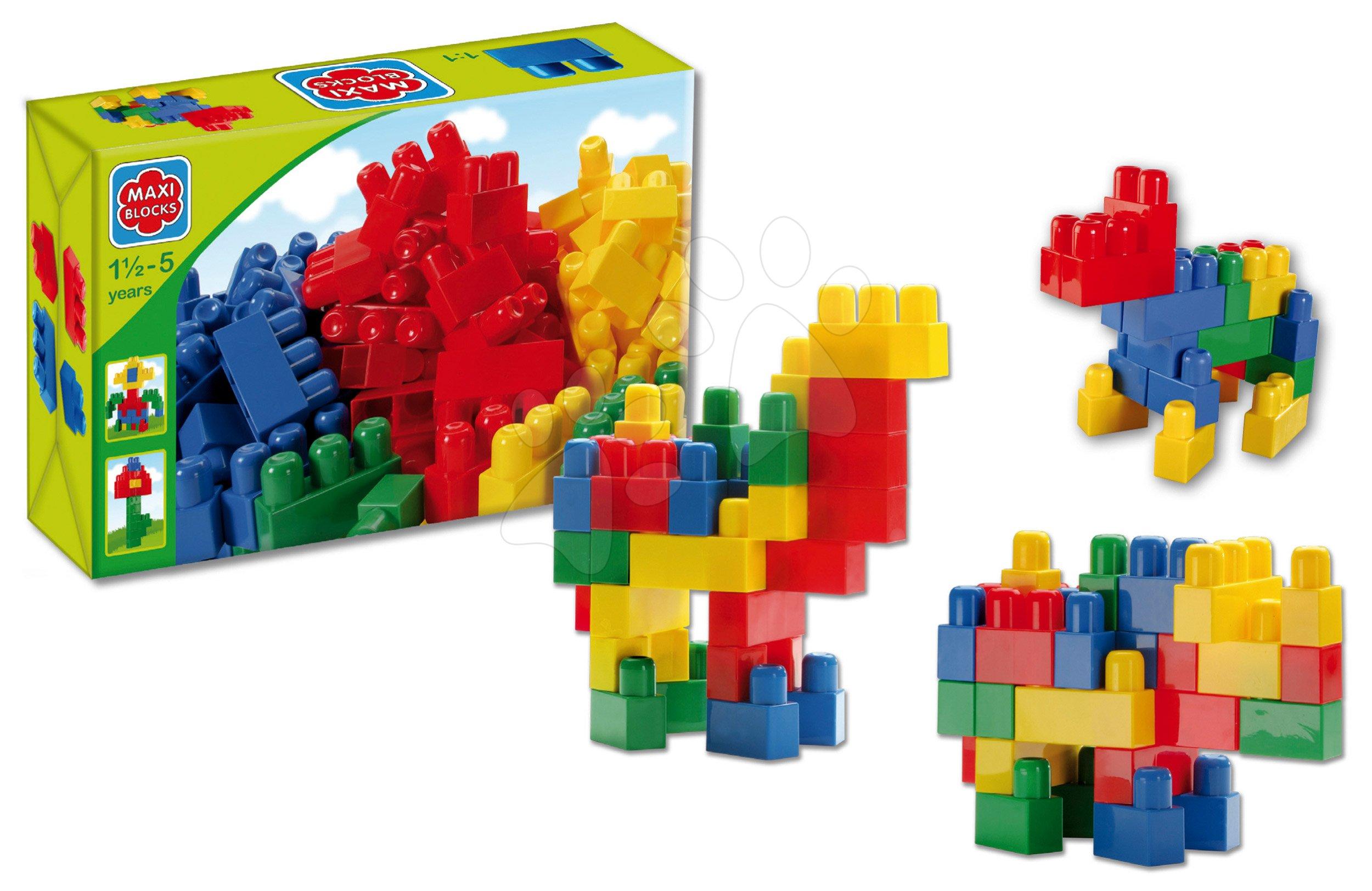 Kostky Maxi Blocks Dohány v krabici 34 dílů od 18 měsíců