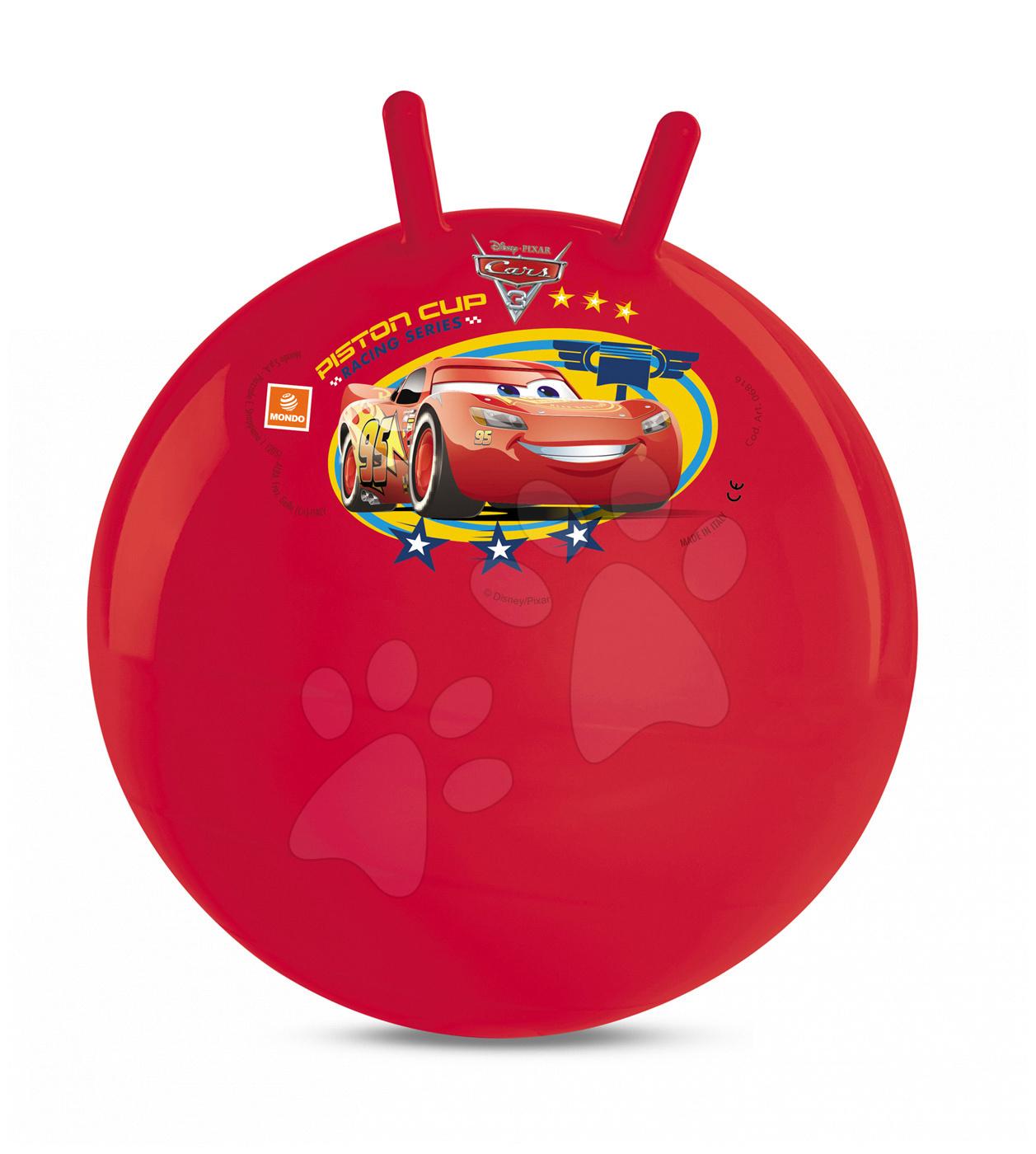 Mondo skákacia lopta Kangaroo Autá 6816 červená