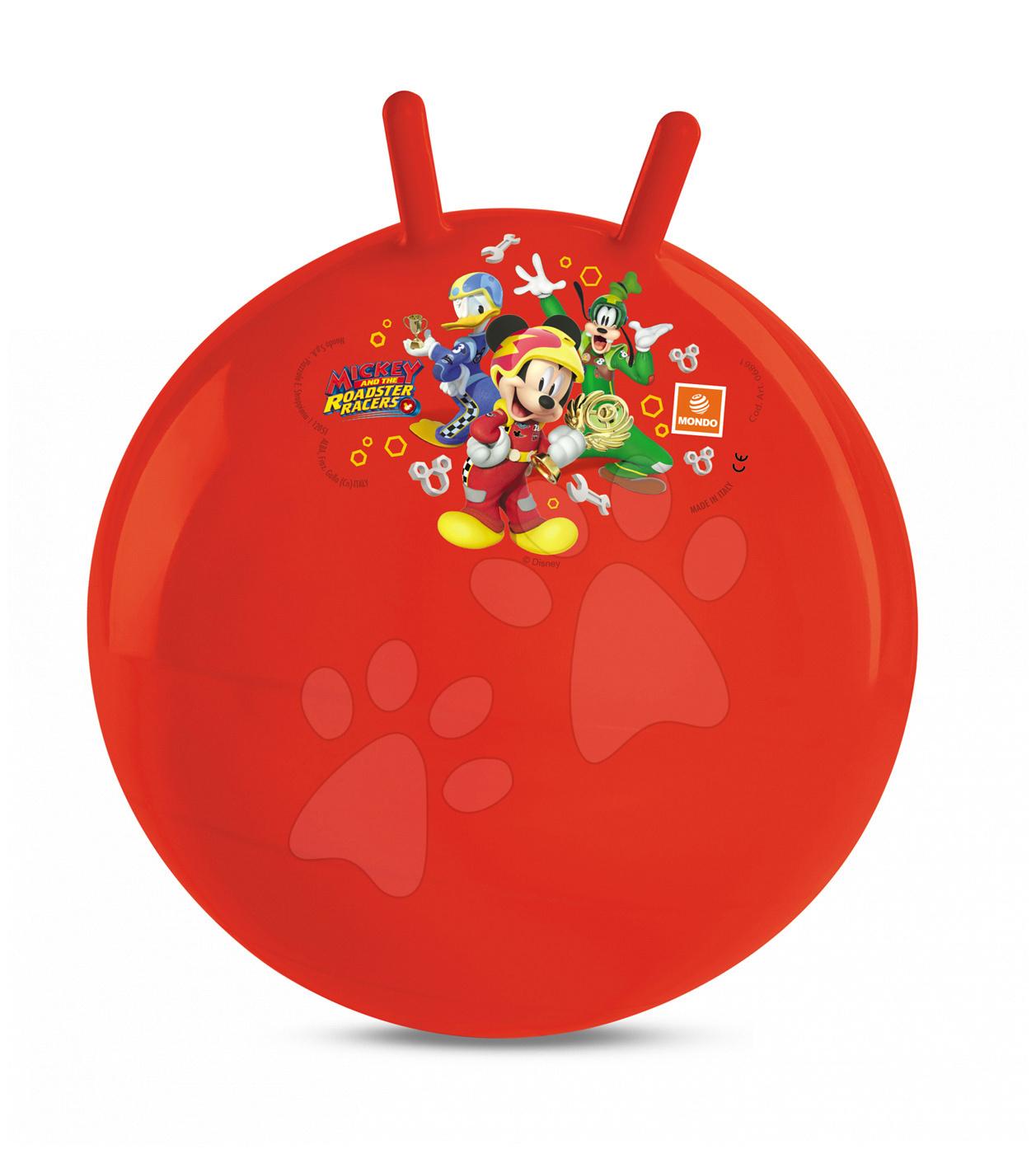 Detské skákadlá a hopsadlá - Lopta na skákanie Kangaroo Mickey Mouse Mondo 45 cm