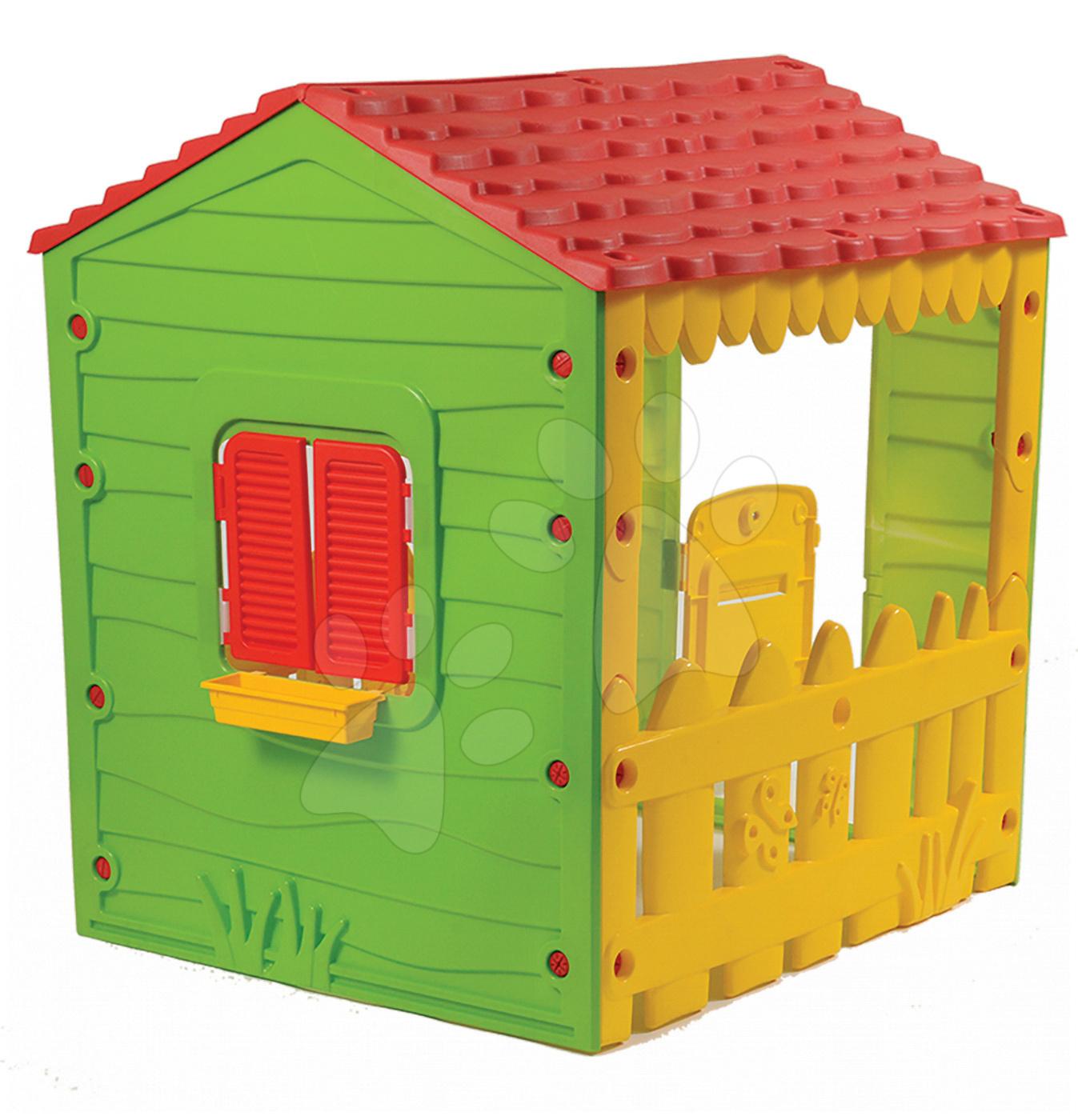 Domček My Little Farm House Starplast s okenicami od 24 mes