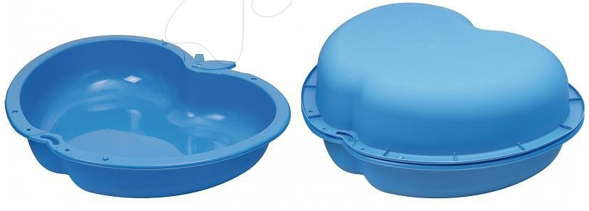 Pískoviště pro děti  - Set 2 pískovišť Jablko Starplast objem 2 x 112 litrů modré od 24 měsíců