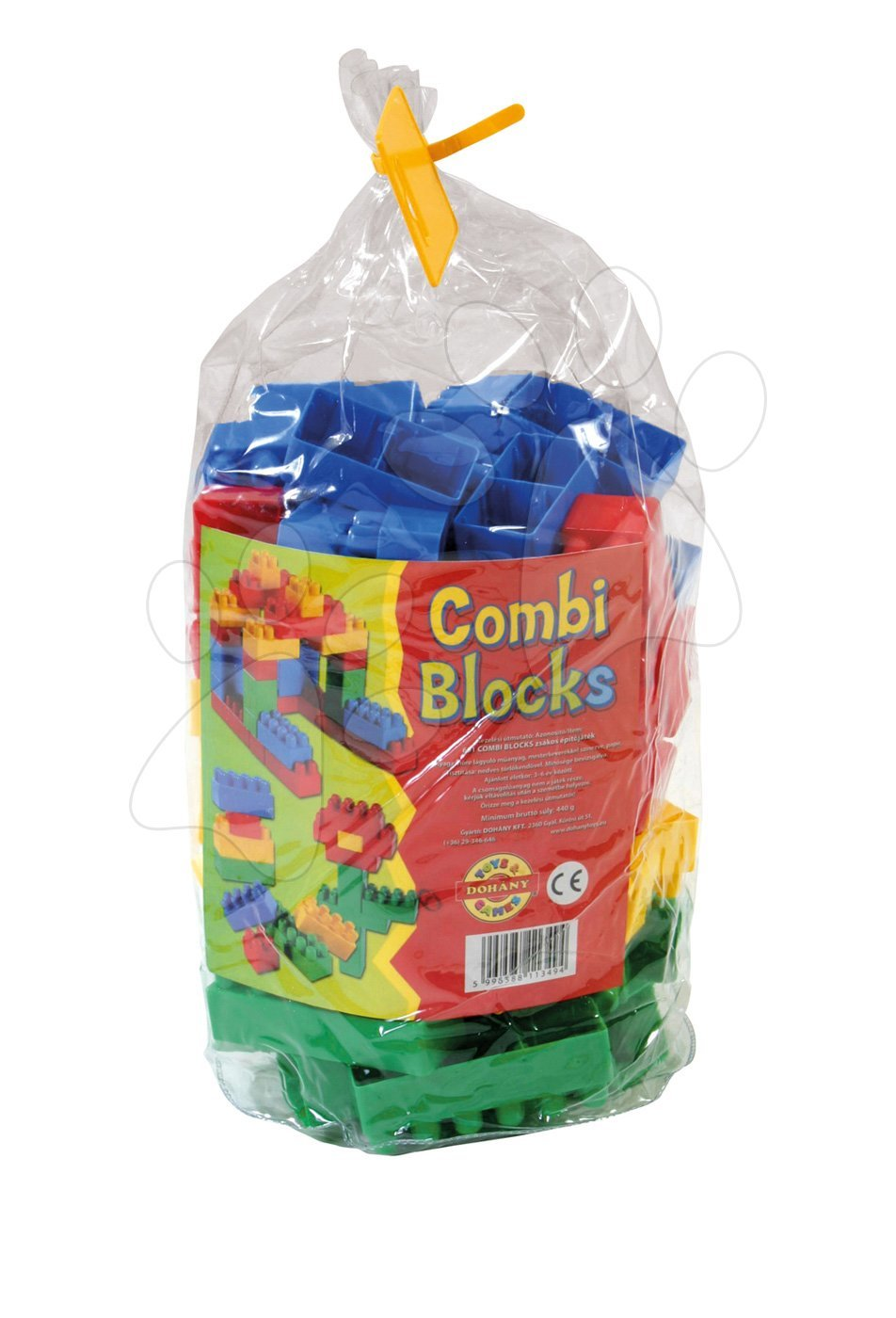 Stavebnice Dohány - Kostky Combi Dohány ve pytli 80 dílů