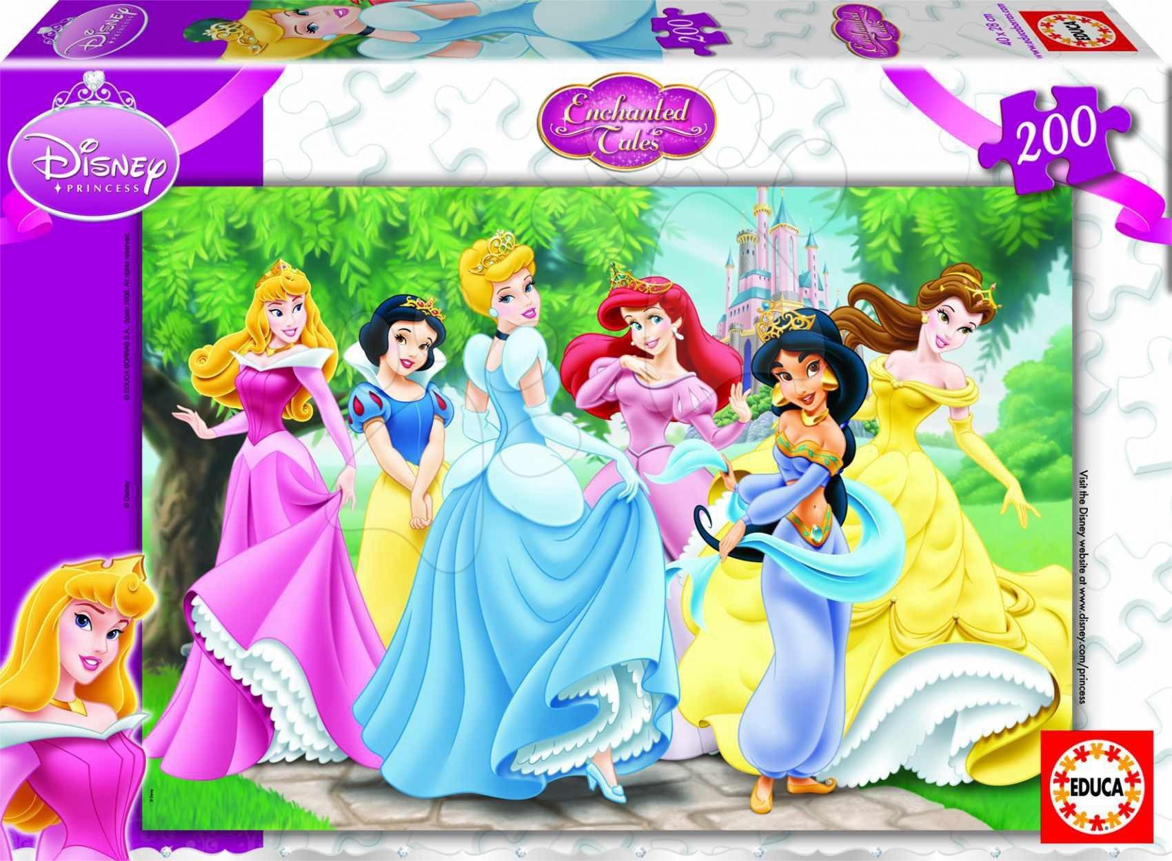Puzzle Prințesele Educa 200 piese