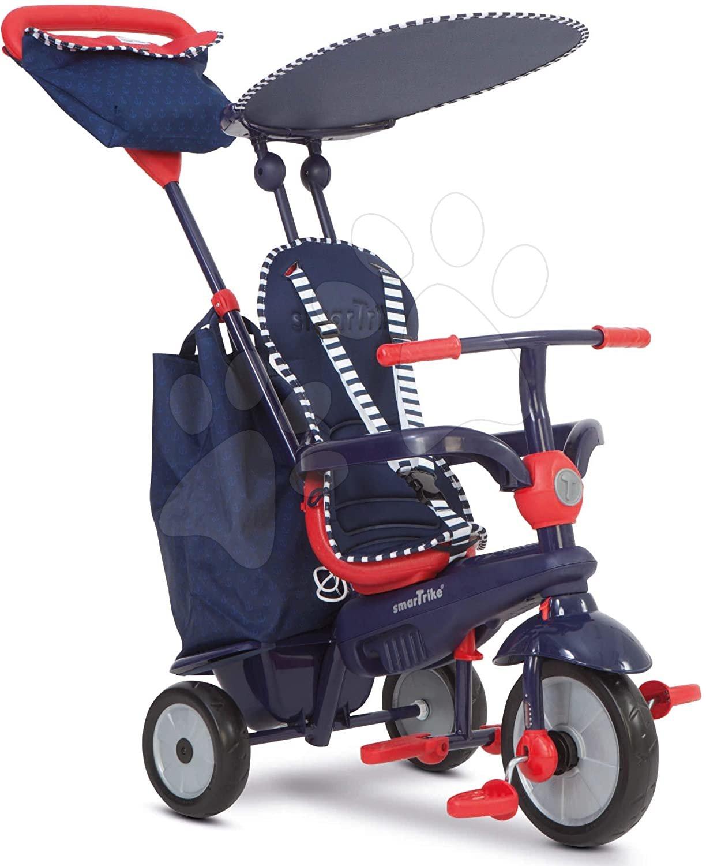 Tříkolka Shine 4v1 Blue&Red smarTrike Touch Steering modro-červená od 10 měsíců
