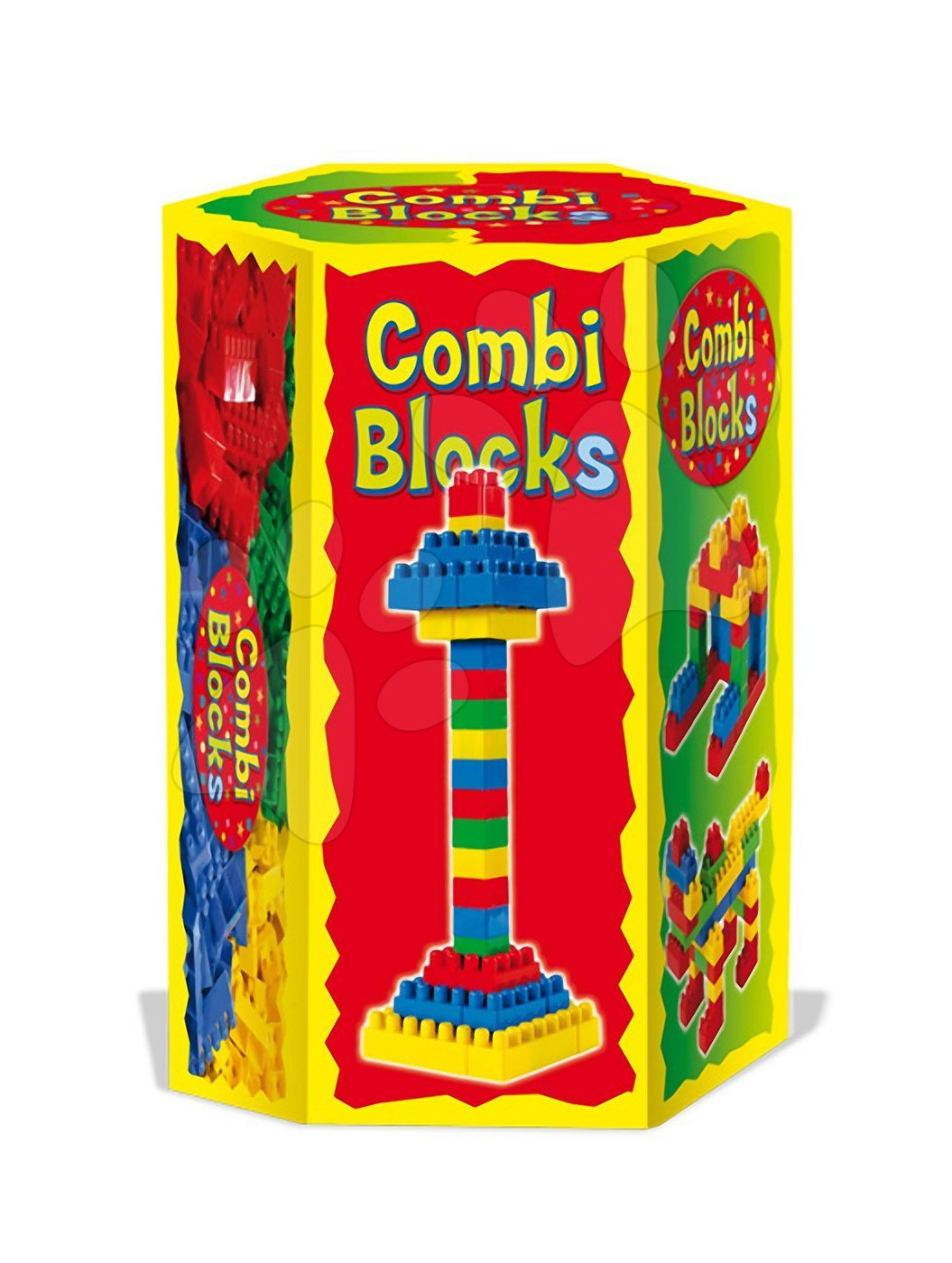 Kocky Combi Dohány 280 dielov v šesťhrannej krabici