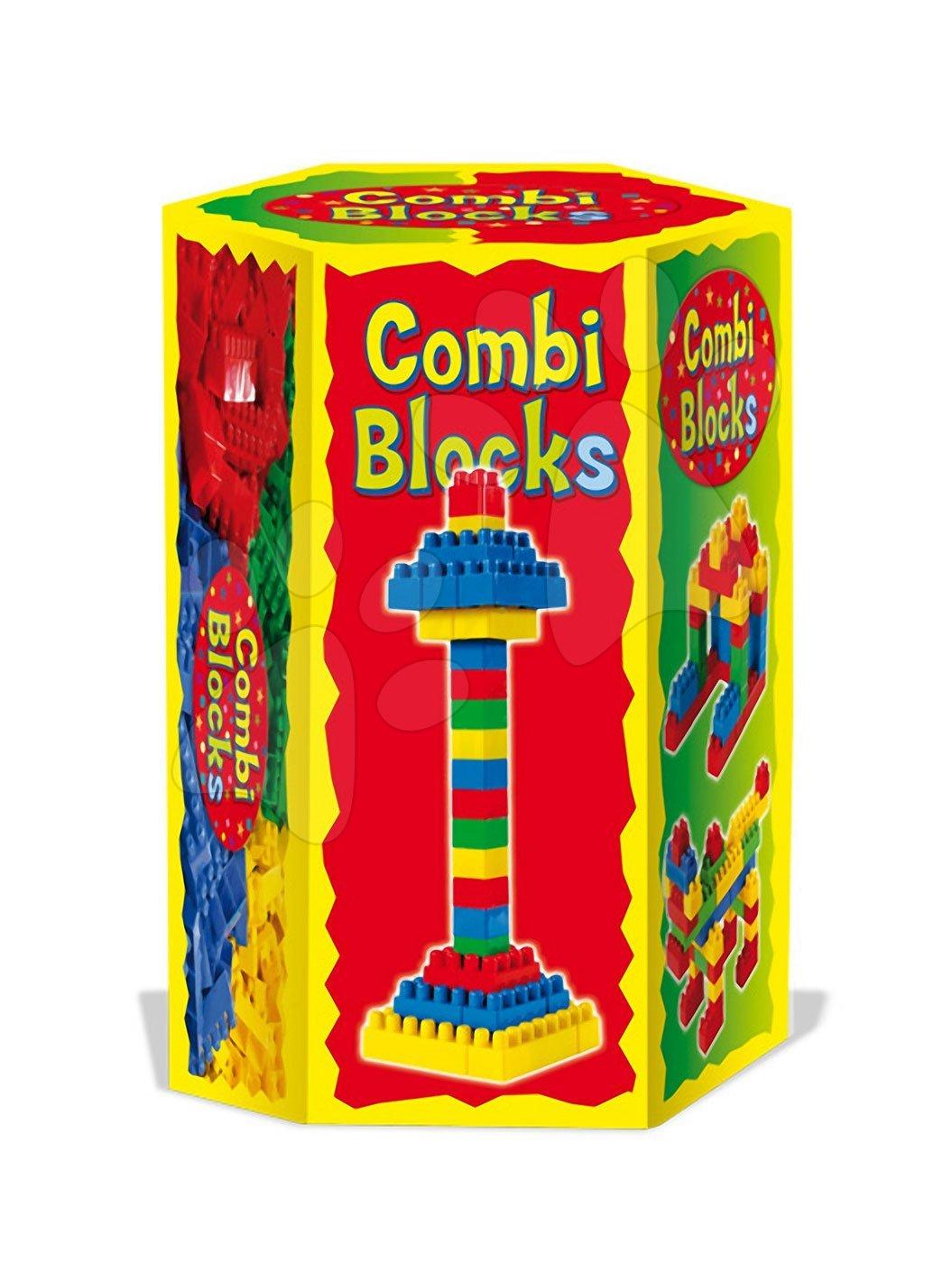 Stavebnice Dohány - Kostky Combi Dohány 280 dílů v šestihranné krabici