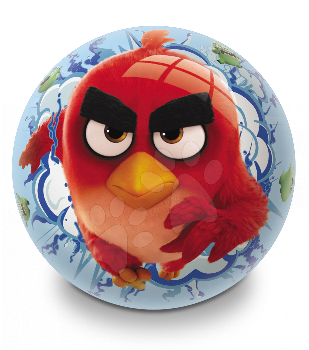 Pohádkový míč Angry Birds Mondo pryžový 23 cm