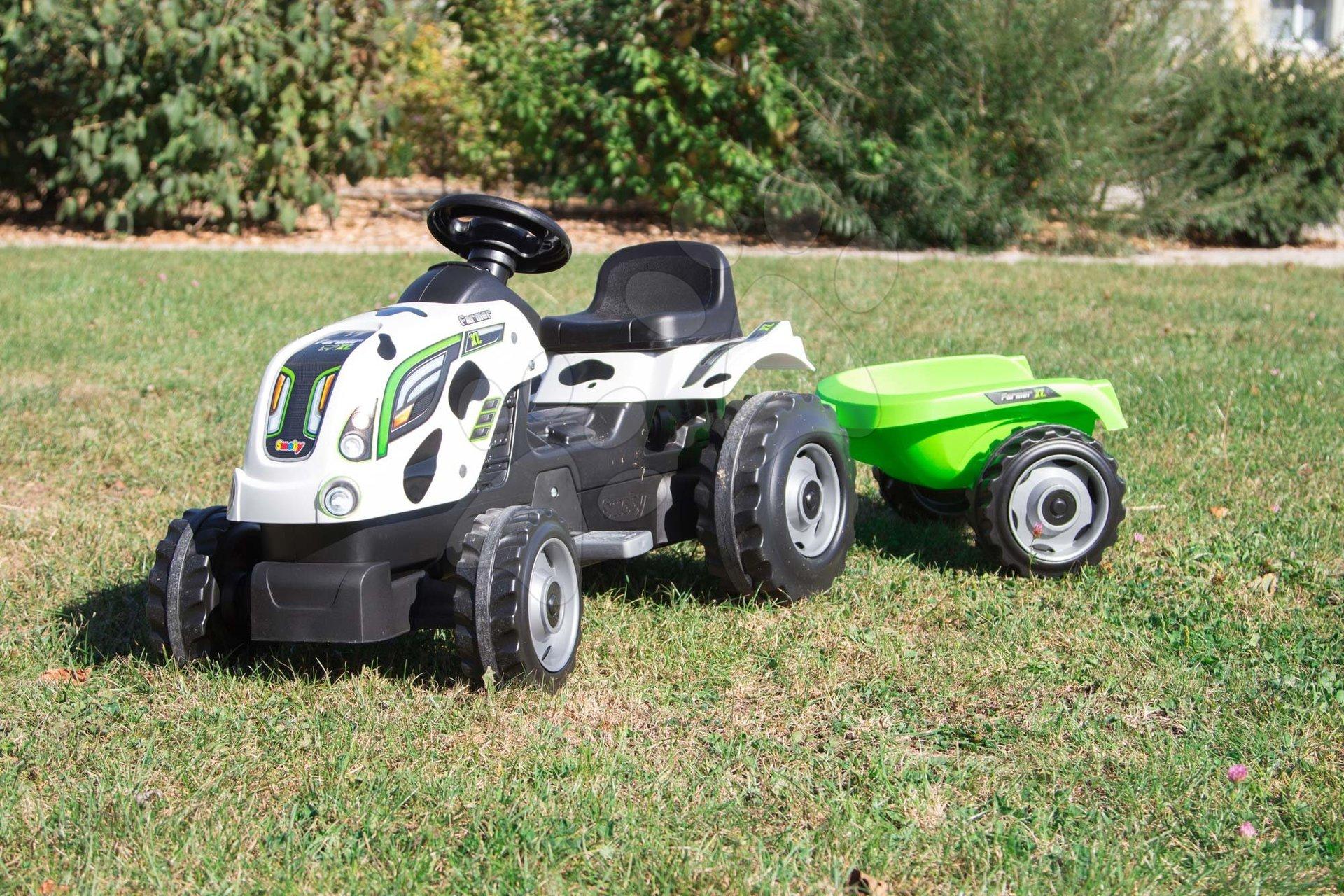 Dětský traktor Farmer XL Smoby