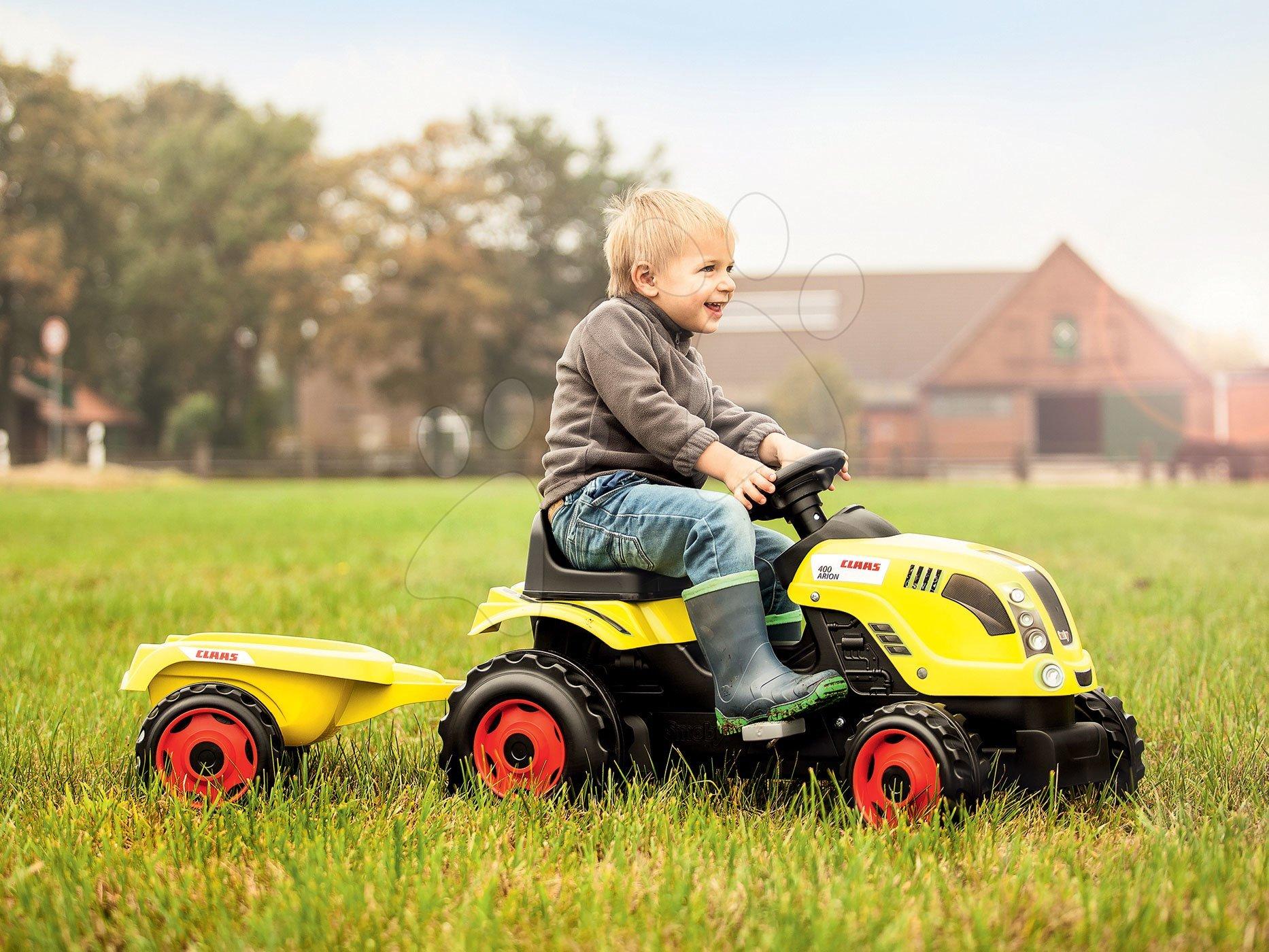 Traktor pro děti Smoby Claas XL zelený