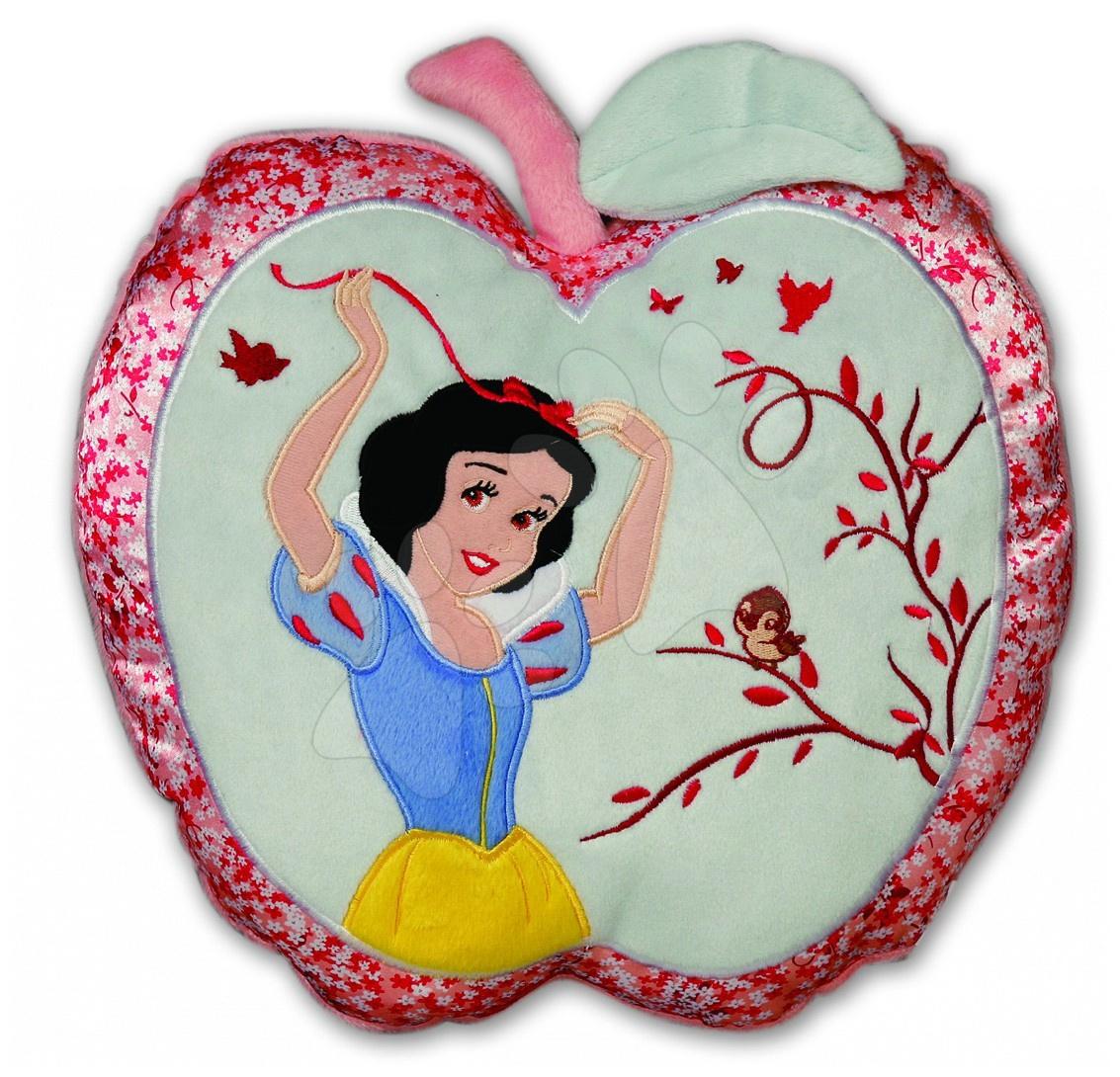 Polštář WD Princezny Sněhurka Ilanit jablíčko 46 cm zelený