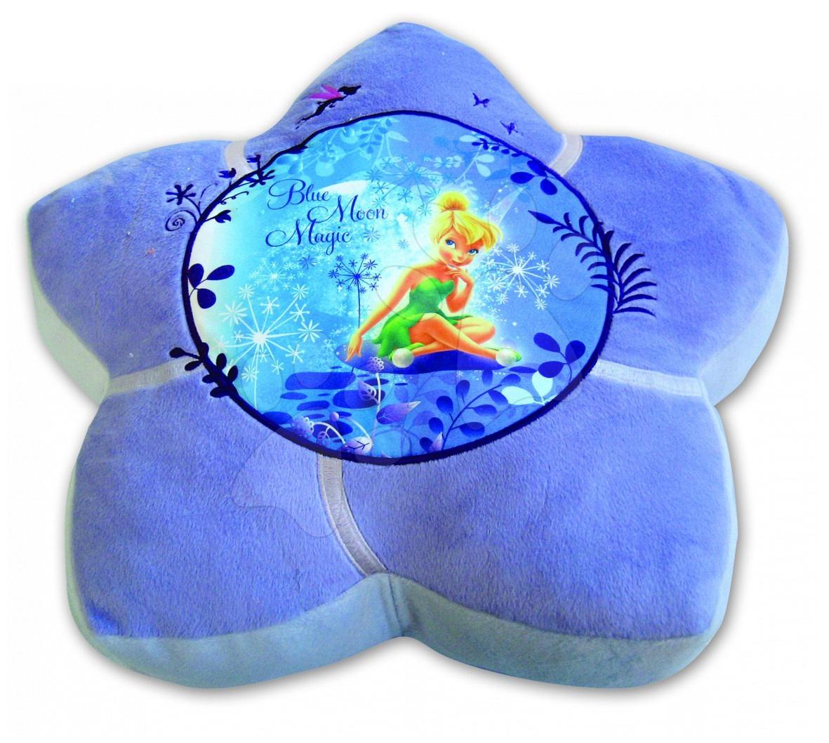 Plüsspárnák - Ülőke WD Disney Csingiling Ilanit kék 50 cm