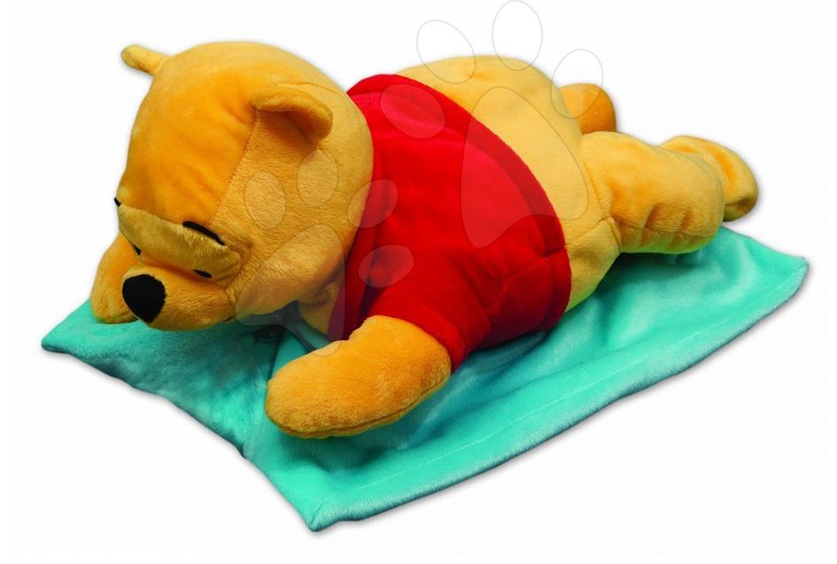 Plyšové polštáře - polštář Medvídek Pooh 2 v 1 Ilanit