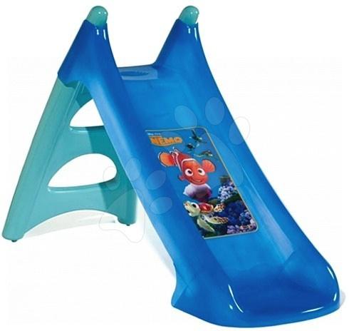 Skluzavky pro děti - Skluzavka Nemo Smoby 90 cm Toboggan XS s vodou