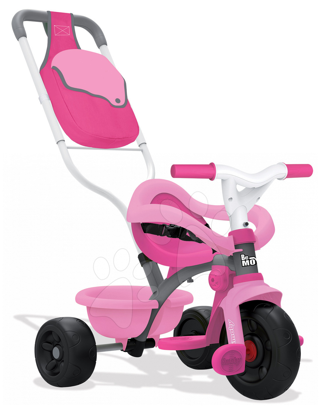 Tricikli Be Move Confort Rose Smoby rózsaszín-szürke 10 hó-tól