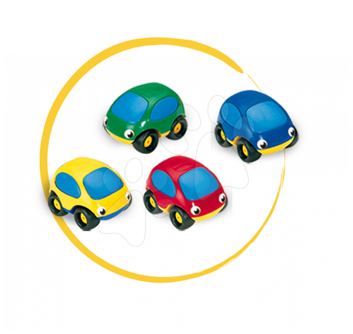 Maşinuţă de jucărie Vroom Planet Smoby cu lungime de 7 cm de la 12 luni