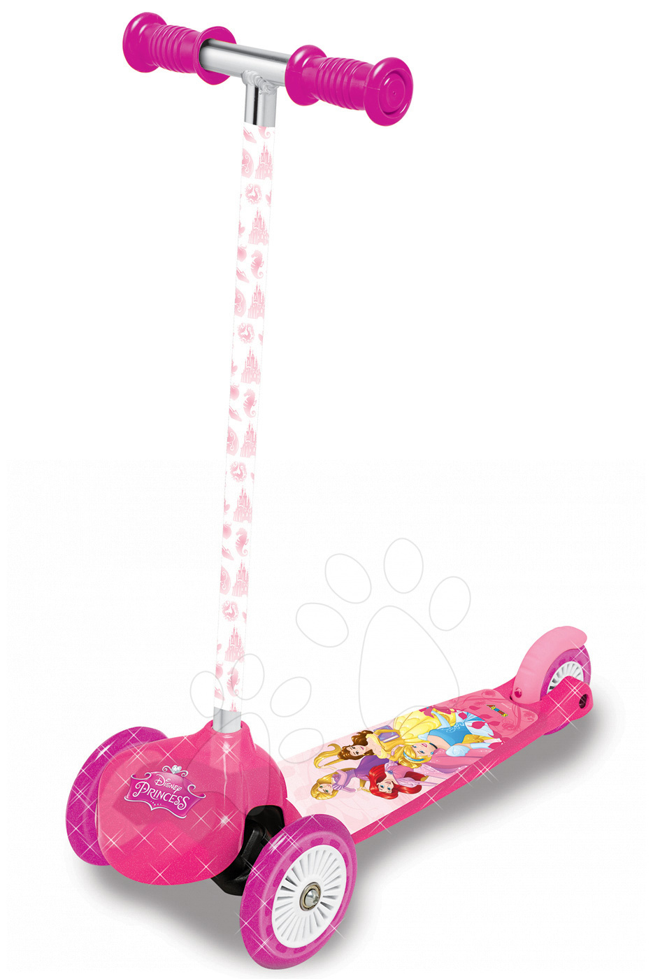 Roller Disney Hercegnők Twist&Roll Smoby oldalra kormányozható