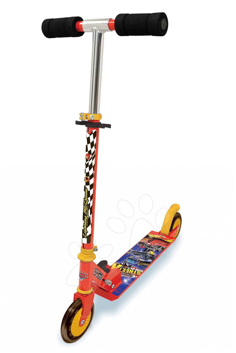 Roller Verdák Smoby kétkerekű, ӧsszecsukható és állítható kormánnyal 5 évtől