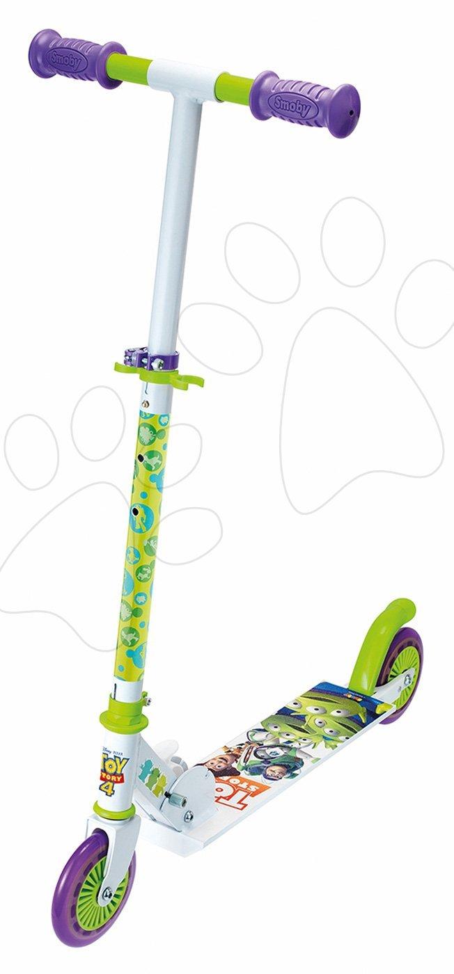 Kolobežky dvojkolesové - Kolobežka dvojkolesová Toy Story Disney Smoby skladacia s brzdou a výškovo nastaviteľnou rúčkou od 5 rokov