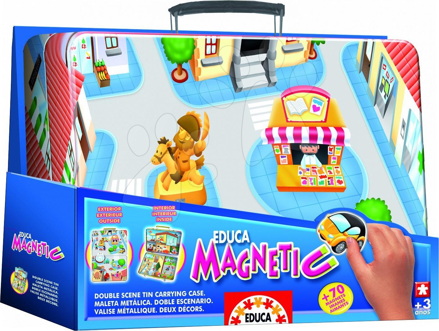 Magnetická hra MĚSTO Educa 70 ks