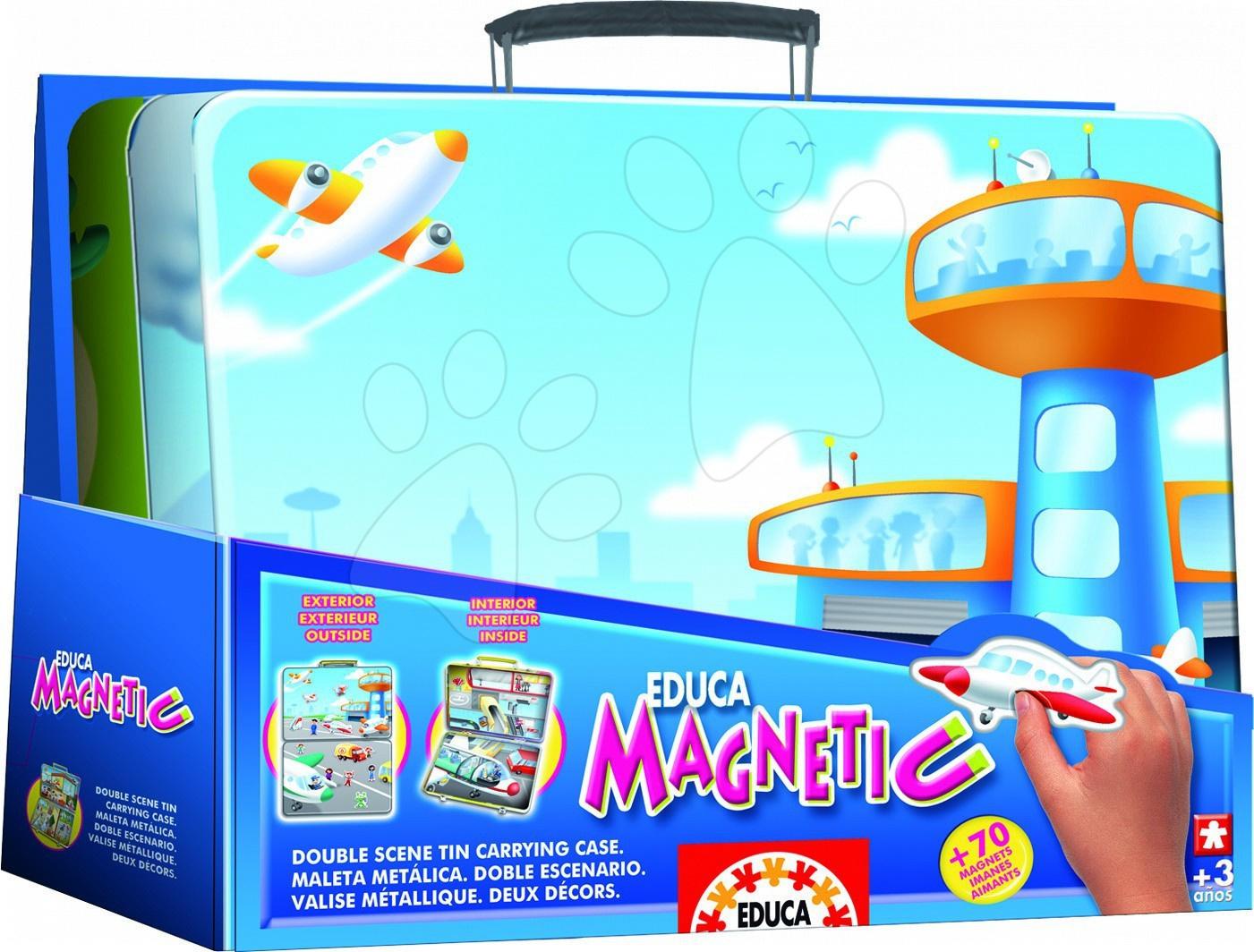 Magnetická hra LETISKO Educa 70 ks