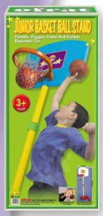 Košarka  - OFRAT 12574 Basketbalový kôš stojanom a s loptou , 210 cm výška, OF-150N