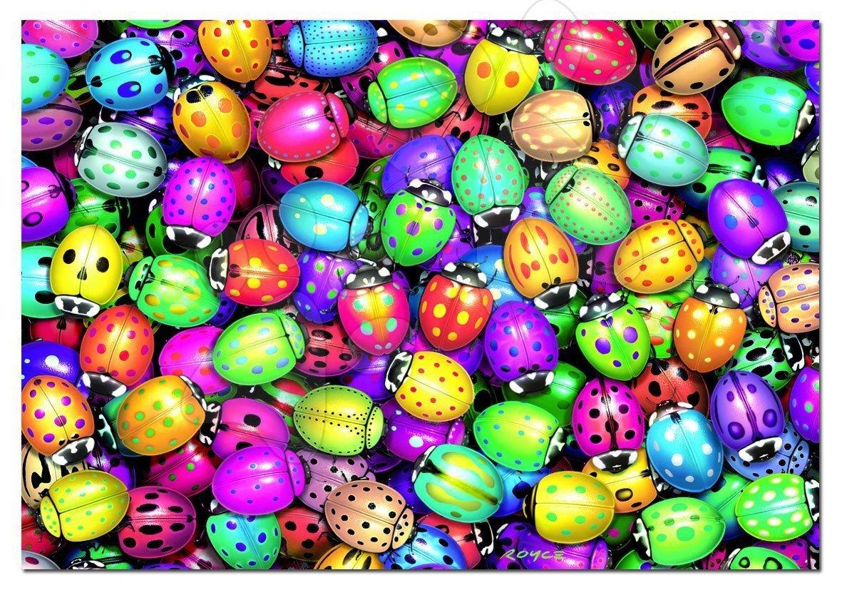 Puzzle 500 dílků - Puzzle barevné berušky Educa 500 dílků
